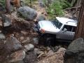 Mark on Hell Hole Trail